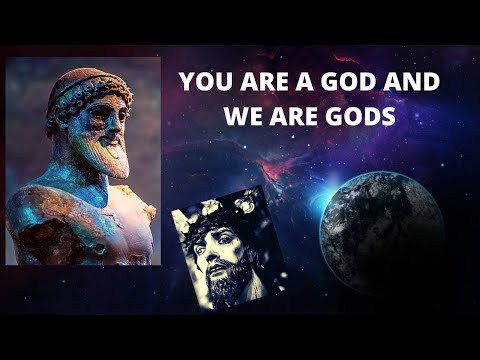You Are gods   Did you know that you are a God!
