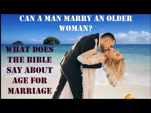 Can A Man Marry An Older Woman   Age difference in marriage